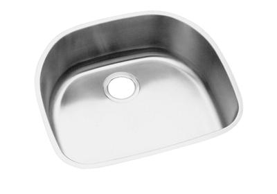"Image for Elkay Stainless Steel 23-9/16"" x 21-1/8"" x 8"", Single Bowl Undermount Sink from ELKAY"