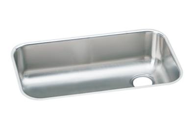 "Image for Elkay Gourmet Stainless Steel 30-1/2"" x 18-1/4"" x 8"", Single Bowl Undermount Sink from ELKAY"