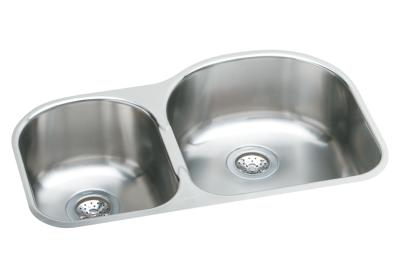 Image for Harmony™ Stainless Steel Double Bowl Undermount Sink Kit from elkay-consumer