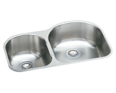 Image for Harmony Stainless Steel Double Bowl Undermount Sink Kit from elkay-consumer