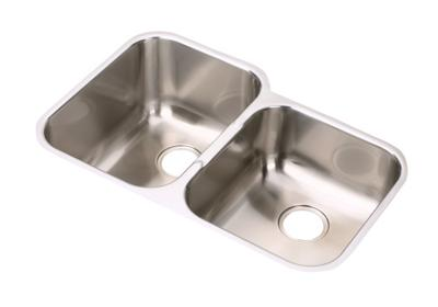 "Image for Elkay Stainless Steel 31-1/4"" x 20-1/2"" x 8"", Offset Double Bowl Undermount Sink from ELKAY"