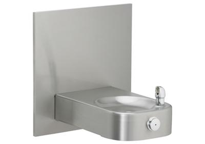 Image for Elkay Slimline Soft Sides Heavy Duty Single Fountain, Non-Filtered Non-Refrigerated Freeze Resistant Stainless from ELKAY