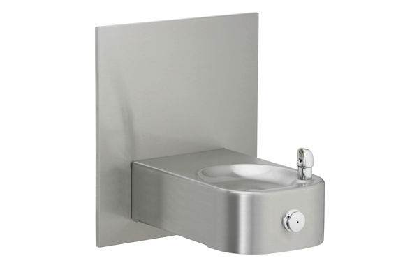 Elkay Soft Sides Heavy Duty Single Fountain Non-Filtered, Non-Refrigerated Freeze Resistant Stainless