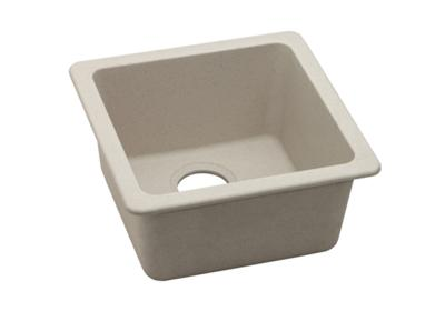 "Image for Elkay Quartz Classic 16-5/8"" x 16-5/8"" x 8"", Single Bowl Dual Mount Bar Sink, Bisque from ELKAY"