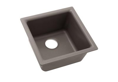 "Image for Elkay Quartz Classic 15-3/4"" x 15-3/4"" x 7-11/16"", Single Bowl Dual Mount Bar Sink, Greige from ELKAY"