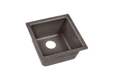 "Image for Elkay Quartz Classic 15-3/4"" x 15-3/4"" x 7-11/16"", Single Bowl Dual Mount Bar Sink, Slate from ELKAY"