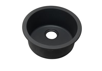 "Image for Elkay Quartz Classic 18-1/8"" x 18-1/8"" x 7-1/2"", Single Bowl Dual Mount Bar Sink, Black from ELKAY"