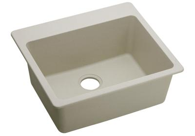 "Image for Elkay Quartz Classic 25"" x 22"" x 9-1/2"", Single Bowl Top Mount Sink, Bisque from ELKAY"