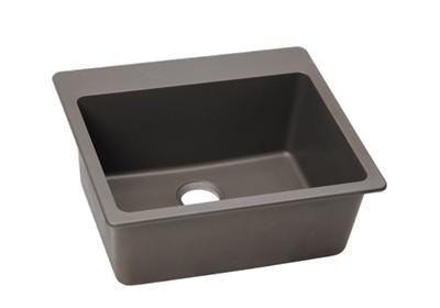 "Image for Elkay Quartz Classic 25"" x 22"" x 9-1/2"", Single Bowl Top Mount Sink, Greige from ELKAY"
