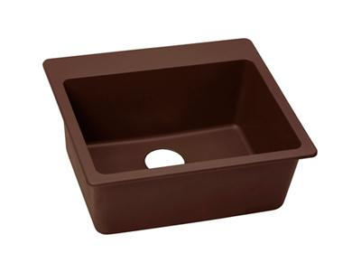 "Image for Elkay Quartz Classic 25"" x 22"" x 9-1/2"", Single Bowl Top Mount Sink, Pecan from ELKAY"