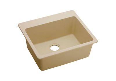 "Image for Elkay Quartz Classic 25"" x 22"" x 9-1/2"", Single Bowl Top Mount Sink, Sand from ELKAY"