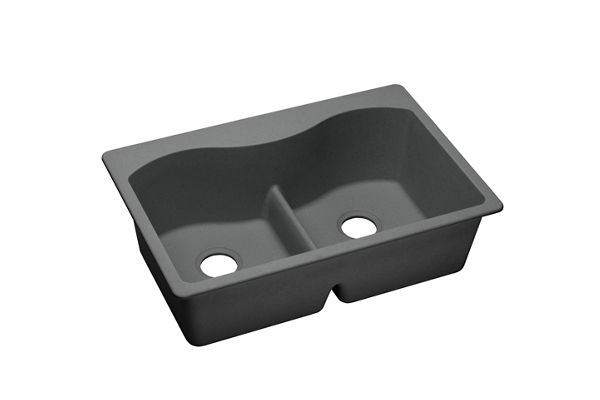 Harmony™ e-granite Double Bowl Top Mount Sink