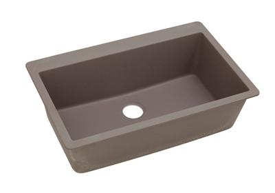 "Image for Elkay Quartz Classic 33"" x 20-7/8"" x 9-7/16"", Single Bowl Top Mount Sink, Greige from ELKAY"