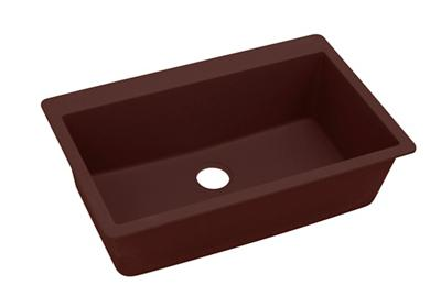 "Image for Elkay Quartz Classic 33"" x 20-7/8"" x 9-7/16"", Single Bowl Top Mount Sink, Pecan from ELKAY"