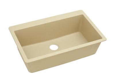 "Image for Elkay Quartz Classic 33"" x 20-7/8"" x 9-7/16"", Single Bowl Top Mount Sink, Sand from ELKAY"