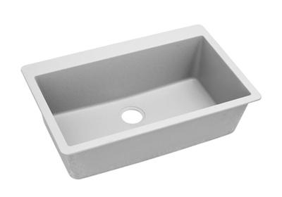 "Image for Elkay Quartz Classic 33"" x 20-7/8"" x 9-7/16"", Single Bowl Top Mount Sink, White from ELKAY"