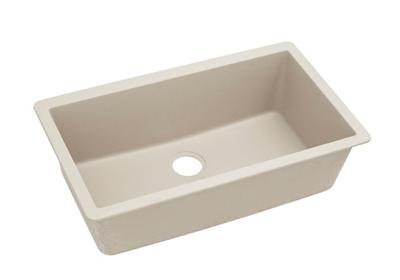 "Image for Elkay Quartz Classic 33"" x 18-7/16"" x 9-7/16"", Single Bowl Undermount Sink, Bisque from ELKAY"