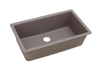 "Image for Elkay Quartz Classic 33"" x 18-7/16"" x 9-7/16"", Single Bowl Undermount Sink, Greige from ELKAY"