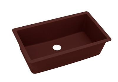 "Image for Elkay Quartz Classic 33"" x 18-7/16"" x 9-7/16"", Single Bowl Undermount Sink, Pecan from ELKAY"