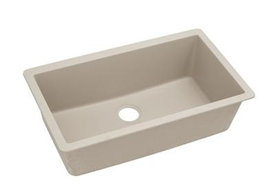 "Image for Elkay Quartz Classic 33"" x 18-7/16"" x 9-7/16"", Single Bowl Undermount Sink, Putty from ELKAY"
