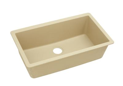 "Image for Elkay Quartz Classic 33"" x 18-7/16"" x 9-7/16"", Single Bowl Undermount Sink, Sand from ELKAY"