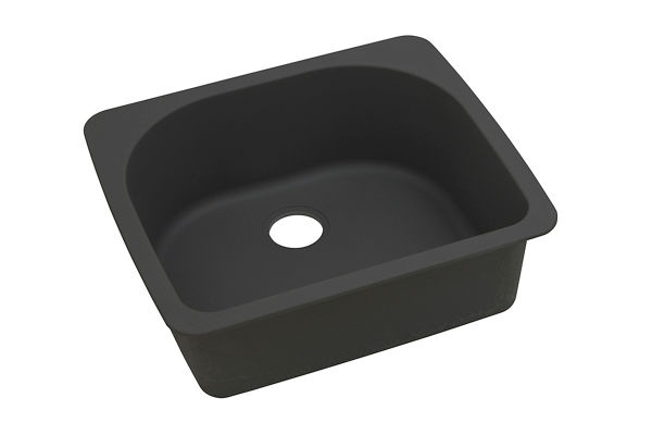 "Elkay Quartz Classic 25"" x 22"" x 8-1/2"", Single Bowl Top Mount Sink"