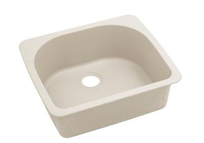 "Image for Elkay Quartz Classic 25"" x 22"" x 8-1/2"", Single Bowl Top Mount Sink, Bisque from ELKAY"