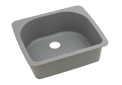 "Image for Elkay Quartz Classic 25"" x 22"" x 8-1/2"", Single Bowl Drop-in Sink, Greystone from ELKAY"