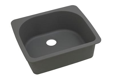 "Image for Elkay Quartz Classic 25"" x 22"" x 8-1/2"", Single Bowl Drop-in Sink, Dusk Gray from ELKAY"