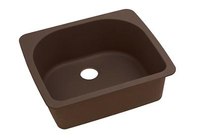 "Image for Elkay Quartz Classic 25"" x 22"" x 8-1/2"", Single Bowl Top Mount Sink, Mocha from ELKAY"