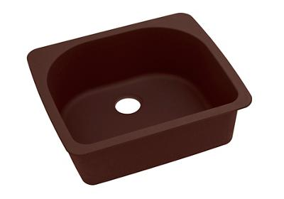 "Image for Elkay Quartz Classic 25"" x 22"" x 8-1/2"", Single Bowl Top Mount Sink, Pecan from ELKAY"