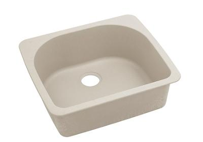 "Image for Elkay Quartz Classic 25"" x 22"" x 8-1/2"", Single Bowl Top Mount Sink, Putty from ELKAY"