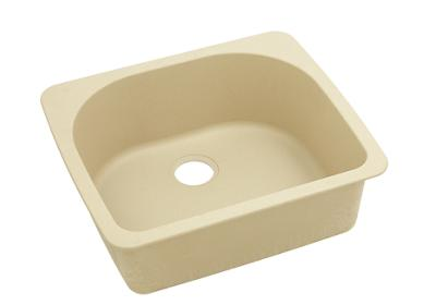 "Image for Elkay Quartz Classic 25"" x 22"" x 8-1/2"", Single Bowl Top Mount Sink, Sand from ELKAY"