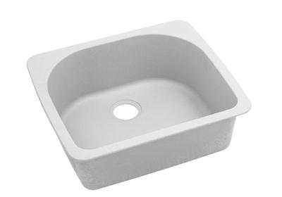 "Image for Elkay Quartz Classic 25"" x 22"" x 8-1/2"", Single Bowl Top Mount Sink, White from ELKAY"