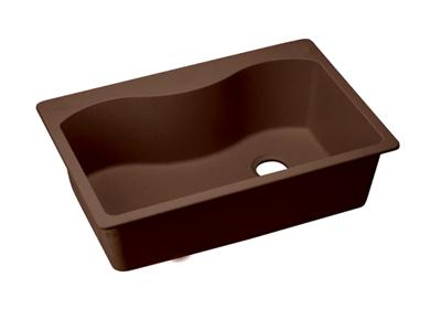 "Image for Elkay Quartz Classic 33"" x 22"" x 9-1/2"", Single Bowl Top Mount Sink, Pecan from ELKAY"