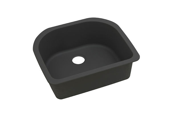 "Elkay Quartz Classic 25"" x 22"" x 8-1/2"", Single Bowl Undermount Sink"