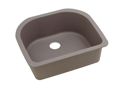 "Image for Elkay Quartz Classic 25"" x 22"" x 8-1/2"", Single Bowl Undermount Sink, Greige from ELKAY"