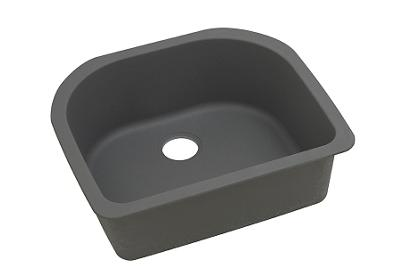 "Image for Elkay Quartz Classic 25"" x 22"" x 8-1/2"", Single Bowl Undermount Sink, Dusk Gray from ELKAY"