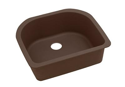 "Image for Elkay Quartz Classic 25"" x 22"" x 8-1/2"", Single Bowl Undermount Sink, Mocha from ELKAY"