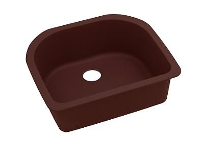"Image for Elkay Quartz Classic 25"" x 22"" x 8-1/2"", Single Bowl Undermount Sink, Pecan from ELKAY"