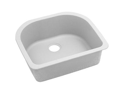"Image for Elkay Quartz Classic 25"" x 22"" x 8-1/2"", Single Bowl Undermount Sink, White from ELKAY"
