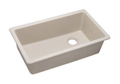 "Image for Elkay Quartz Classic 33"" x 18-3/4"" x 9-1/2"", Single Bowl Undermount Sink, Bisque from ELKAY"