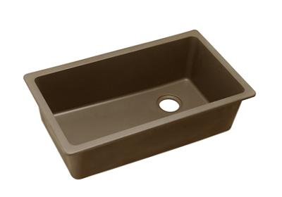 "Image for Elkay Quartz Classic 33"" x 18-3/4"" x 9-1/2"", Single Bowl Undermount Sink, Mocha from ELKAY"