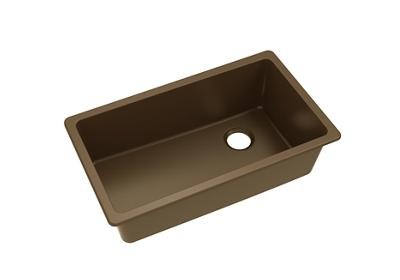 "Image for Elkay Quartz Classic 33"" x 18-3/4"" x 9-1/2"", Single Bowl Undermount Sink, Pecan from ELKAY"