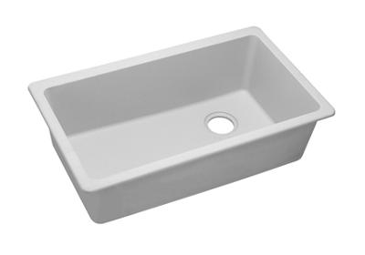 "Image for Elkay Quartz Classic 33"" x 18-3/4"" x 9-1/2"", Single Bowl Undermount Sink, White from ELKAY"