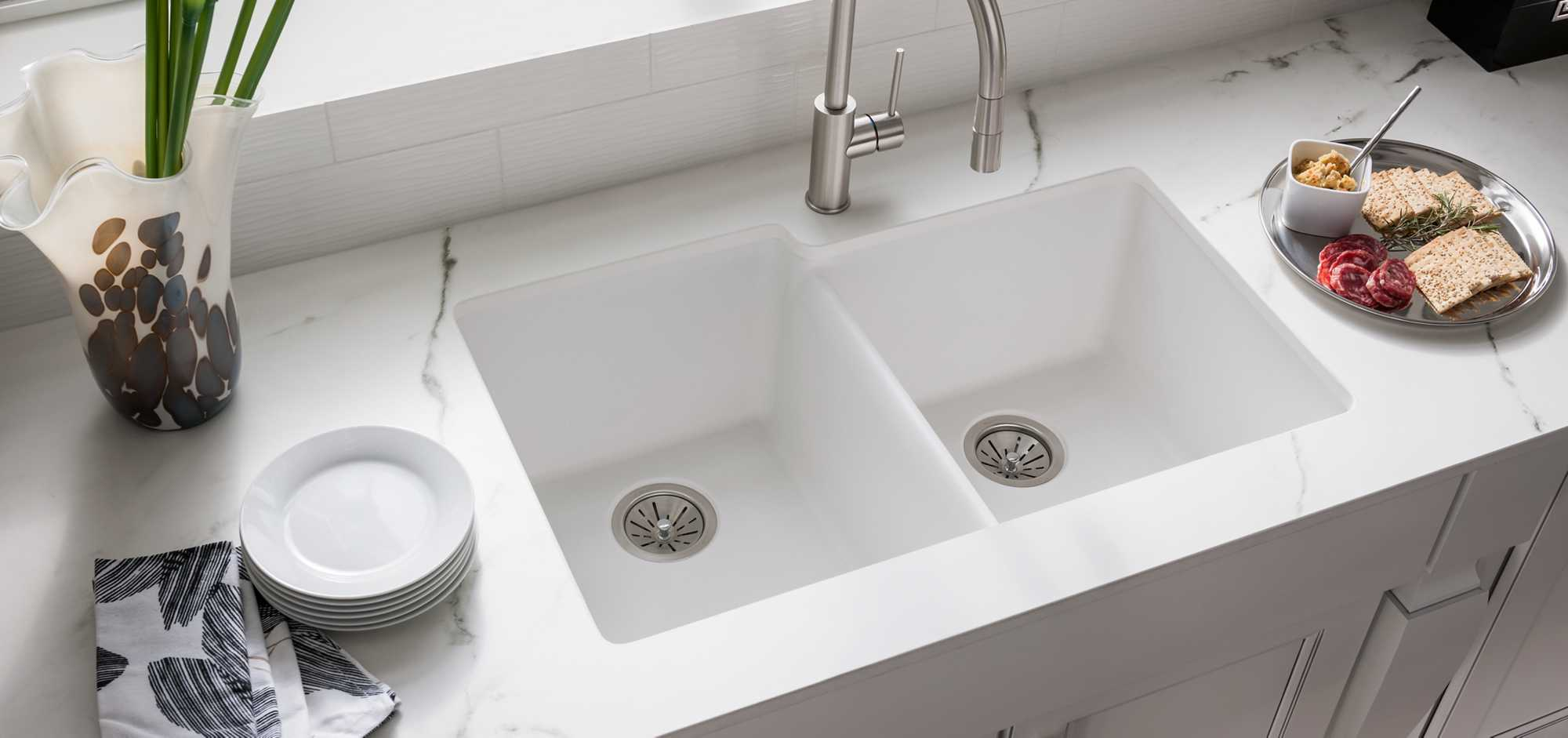 Quartz Classic Kitchen Sinks | Elkay