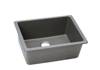 "Image for Elkay Quartz Classic 25"" x 18-1/2"" x 9-1/2"", Single Bowl Undermount Sink, Greystone from ELKAY"