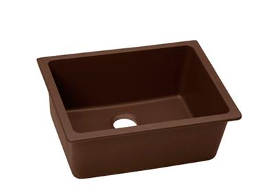 "Image for Elkay Quartz Classic 25"" x 18-1/2"" x 9-1/2"", Single Bowl Undermount Sink, Pecan from ELKAY"