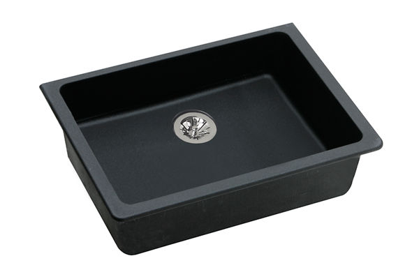 "Elkay Quartz Classic 25"" x 18-1/2"" x 5-1/2"", Undermount ADA Sink with Perfect Drain"