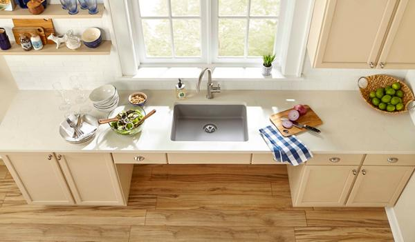 Quartz Classic® ADA With Perfect Drain® | Stylish, Smooth And Strong Sink  Solutions For All.